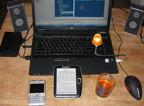 PocketBook 360 в интерьере
