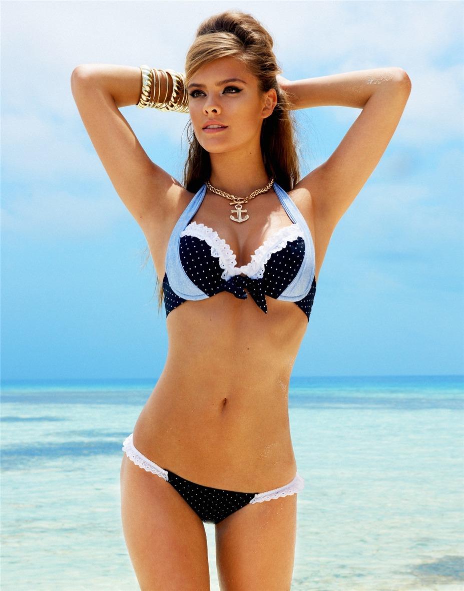 Nina Agdal / Нина Агдал в купальниках Beach Bunny Swimwear 2013 Lady Love Collection
