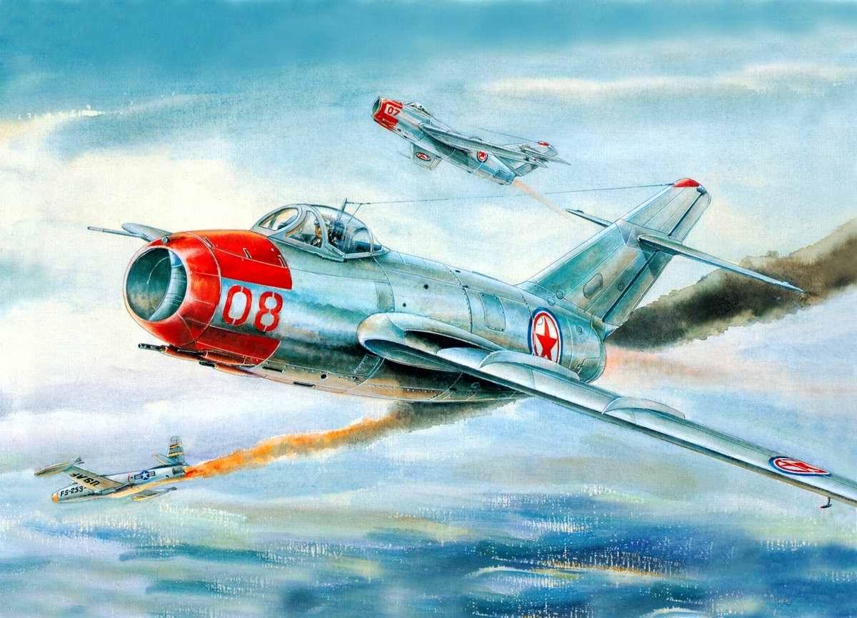 МиГ-15 против Sabre F-86