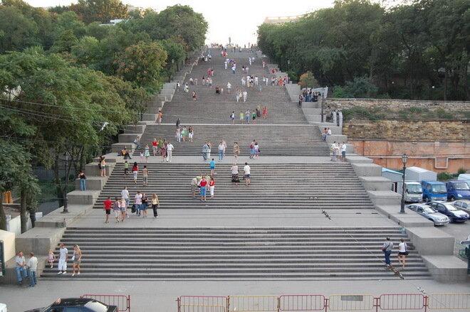 Потёмкинская лестница. Одесса
