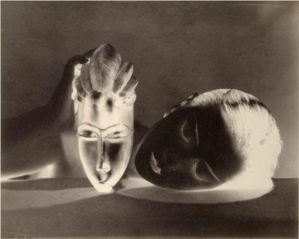1926. Ман Рэй. Кики с Монпарнаса (негатив)