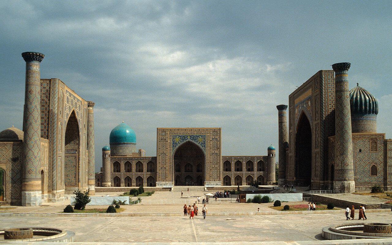 1988. Самарканд. Площадь Регистан