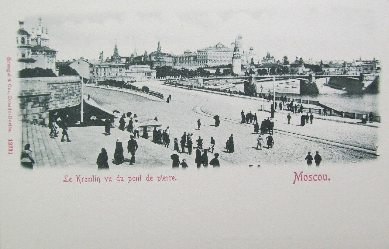 Кремль. Набережная. Каменный мост
