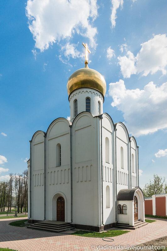 Храм во имя преподобного Пимена Угрешского в Николо-Угрешском монастыре