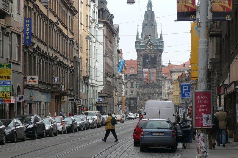 Улицы Праги.