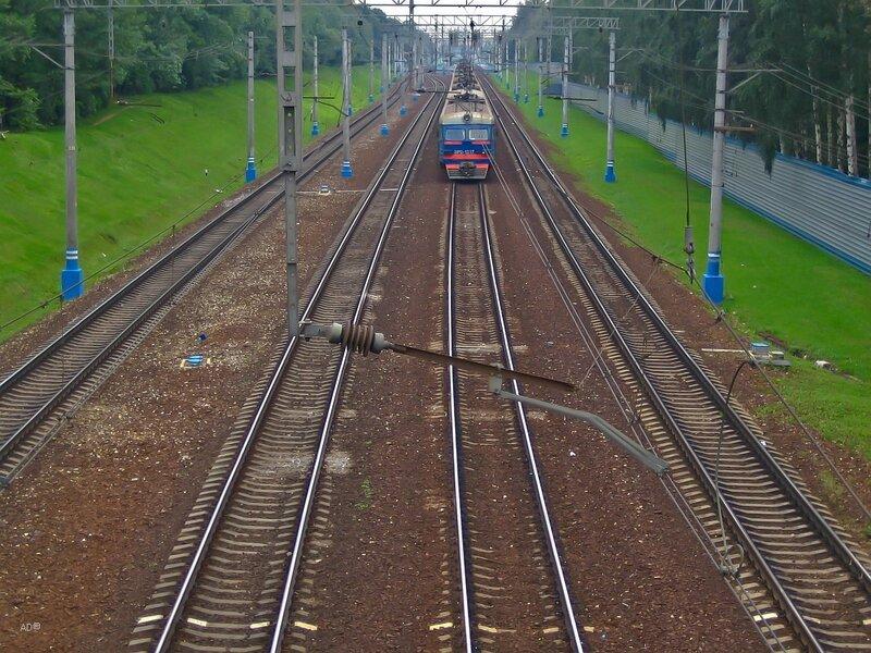 Электропоезд ЭР2-1217. В последний путь