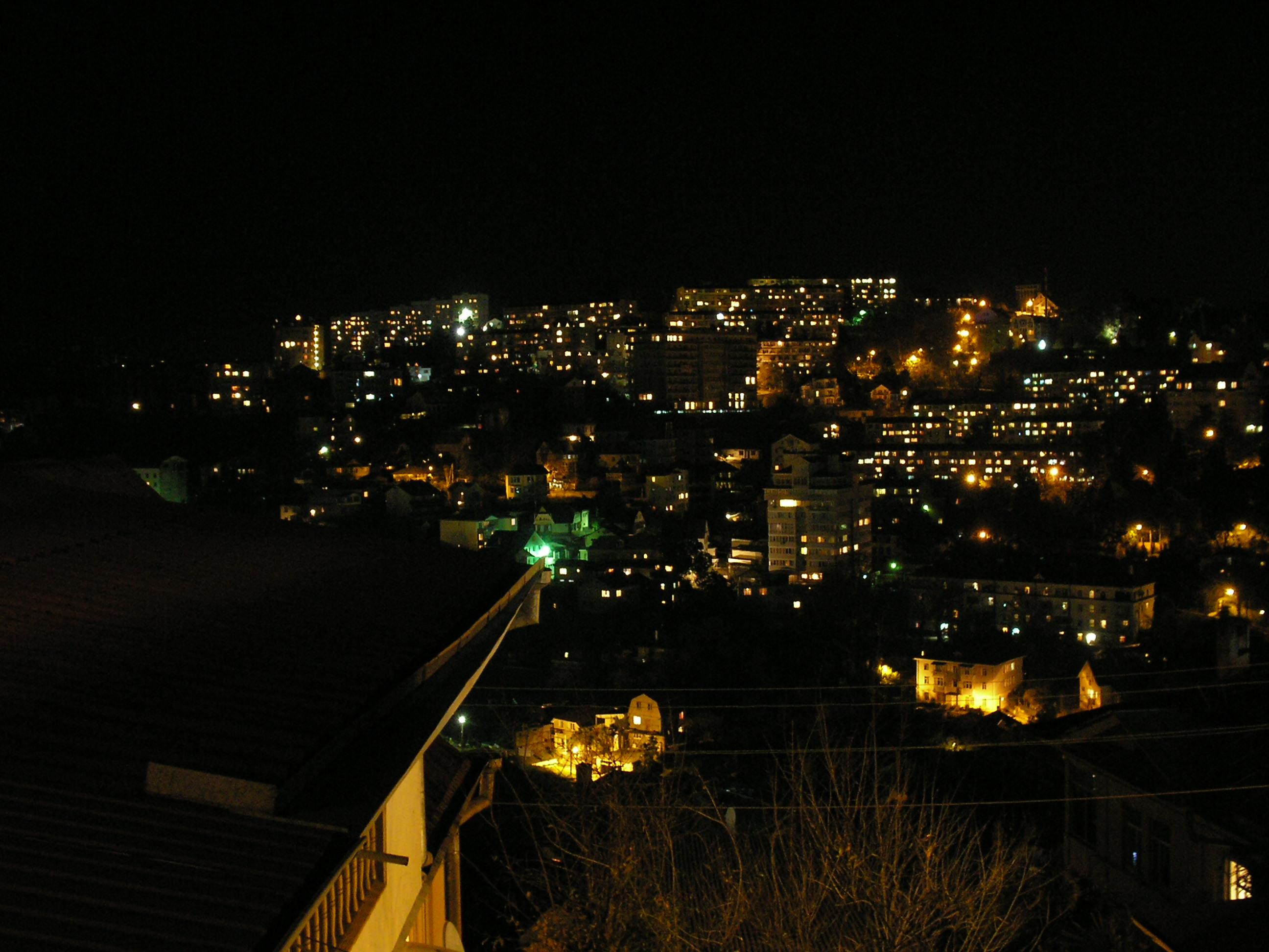 ночной сочи фото