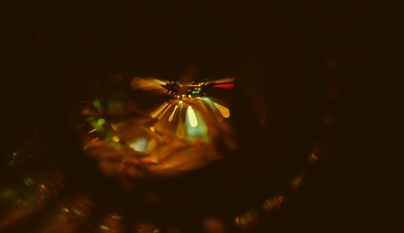 фото абстракция огни