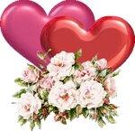 анимированные сердечки