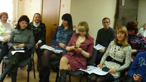участники семинара по любви в Запорожье - янв 2011