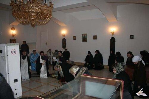 Торопецкую Богоматерь привезли в Храм Александра Невского