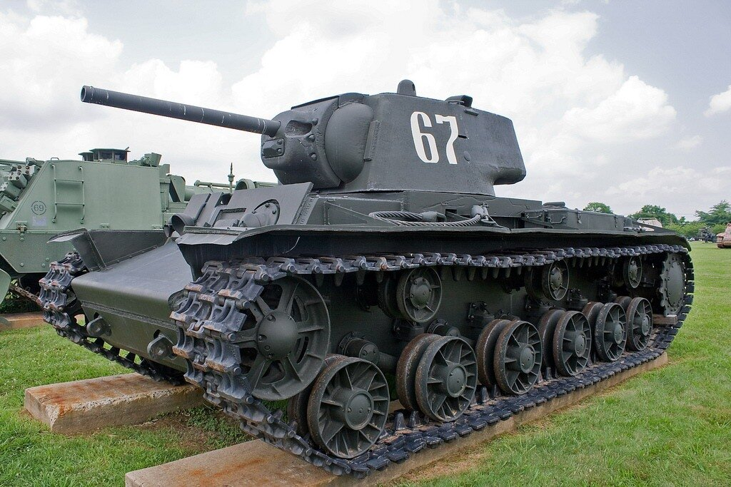 фото всех советских танков сразу