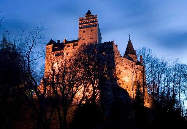 Замок Бран (Замок графа Дракулы)