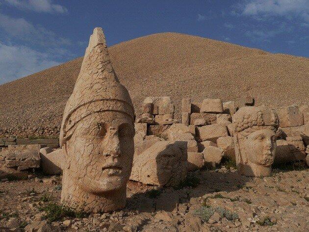 Гора Немрут-Даг. Турция