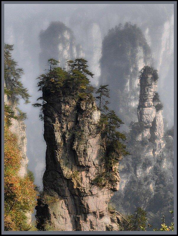 горы Жанг в Китае