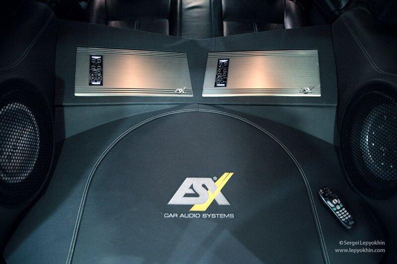 Презентация демо-кара на компонентах ESX