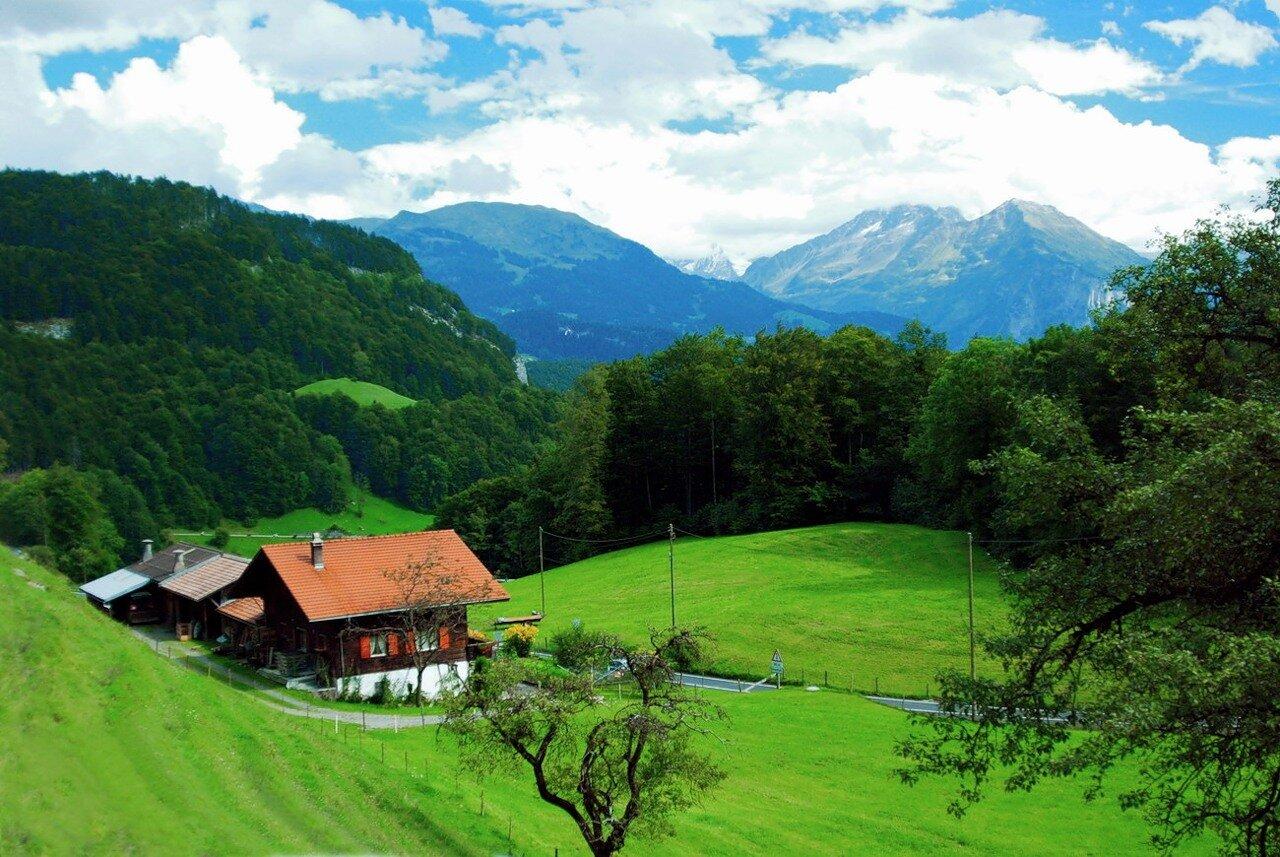 Дорожные картинки. Швейцария