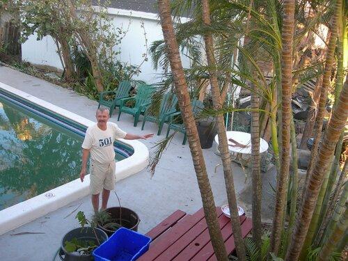Во Флориде после урагана Вилма.
