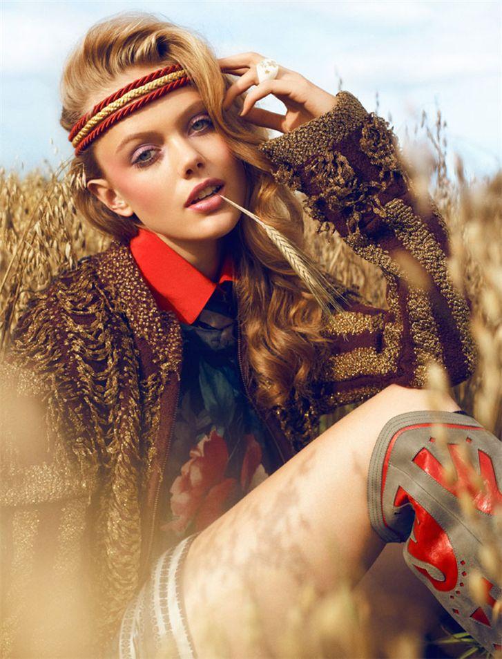 модель Frida Gustavsson / Фрида Густавссон, фотограф Magnus Magnusson