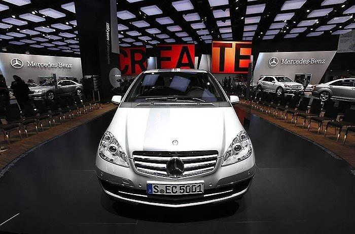 Электромобиль Mercedes Benz A-Class E-Cell