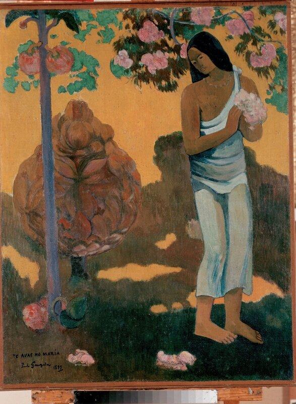 Эжен Анри Поль Гоген, Месяц Марии (Te avae no Maria), 1899