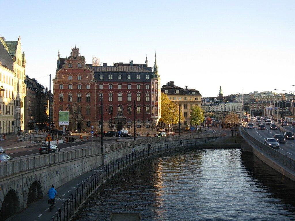 Осенний Стокгольм. Гамла Стан