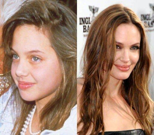 Большая разница.Angelina Jolie