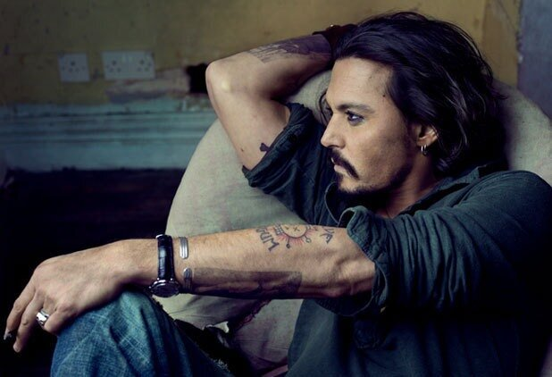 Johnny Depp in the January 2011 issue of Vanity Fair. Photograph by Annie Leibovitz