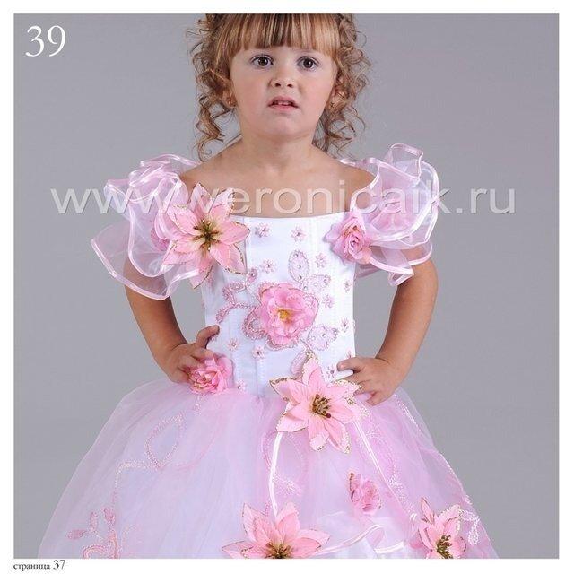 Как украсить детское платье на новый год своими руками фото