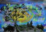 """Юрченко Яна (рук. Овсянникова Светлана Ивановна) - """"Созерцание вселенной"""""""