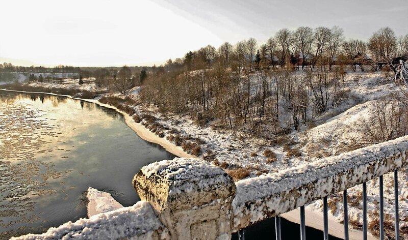 Ловать. Январь 2012