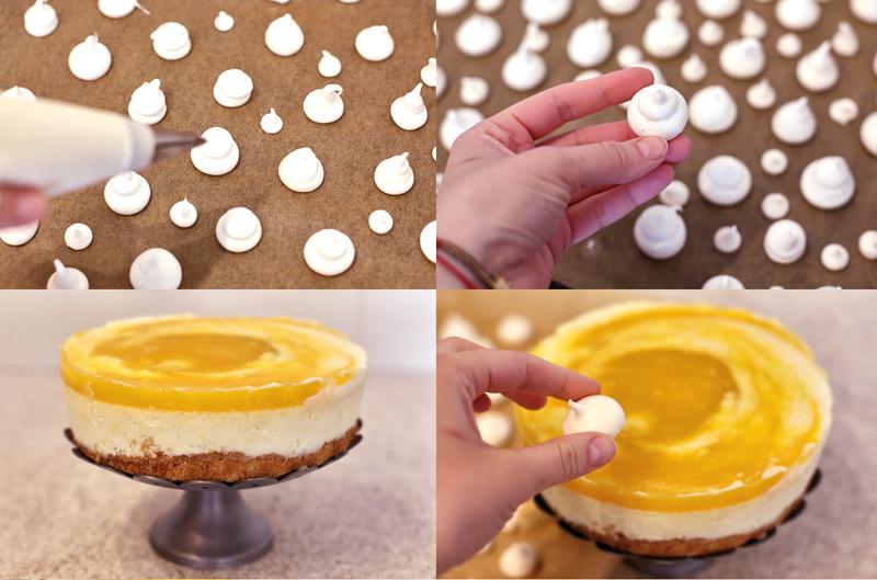 Торт Чизкейк с манго - пошаговый рецепт с фото #6.