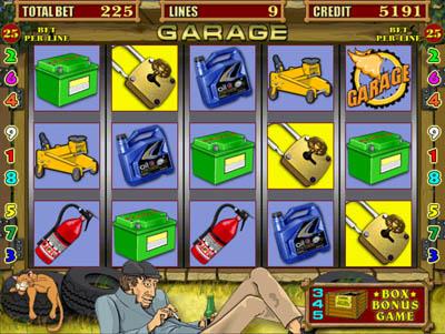 Игровой автомат «Garage»
