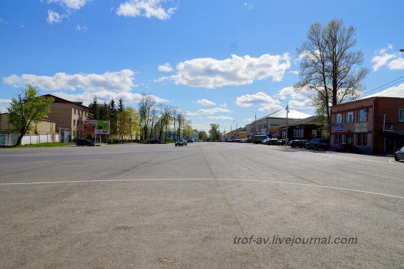 Комсомольская площадь, Можайск