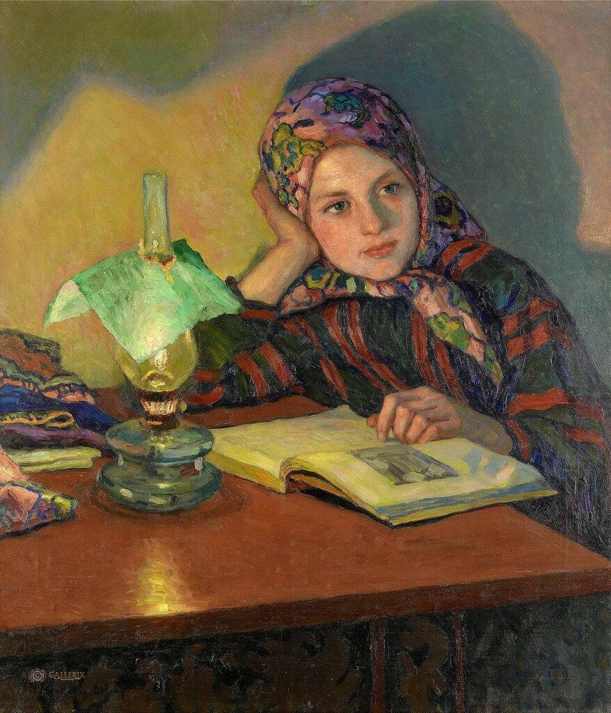 Богданов-Бельский: Вдохновение Частная коллекция78х68.5