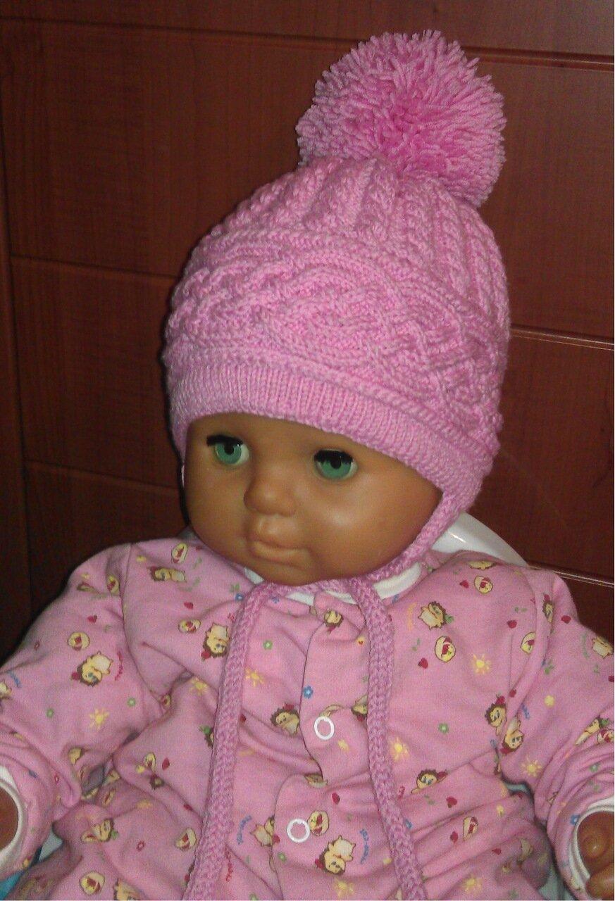 Greenmattone Вязать шапку девочке