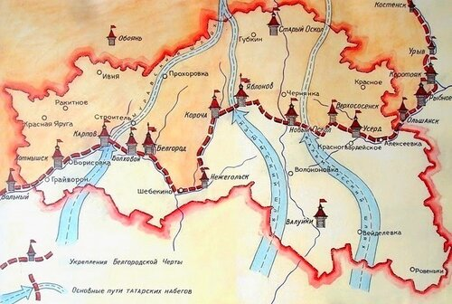 Карта Черты