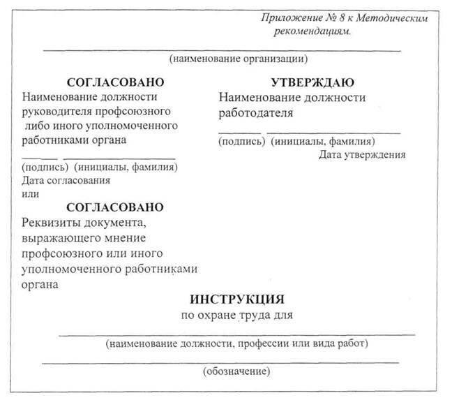 Инструкция по охране труда слесарь