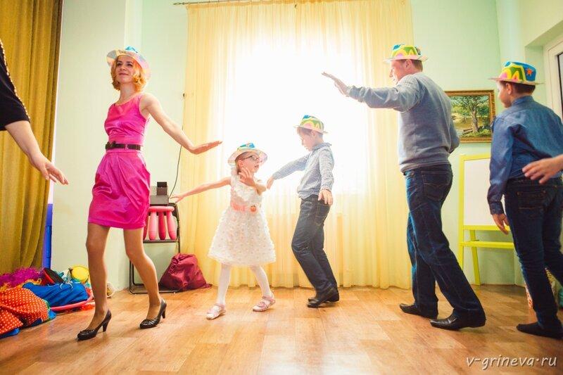 детский праздник, студия Ольги Дворецкой