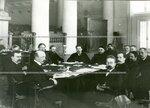 Заседание членов первой комиссии первого отдела по проверке полномочий.