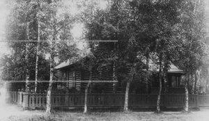 Офицерская дача в красносельских лагерях.