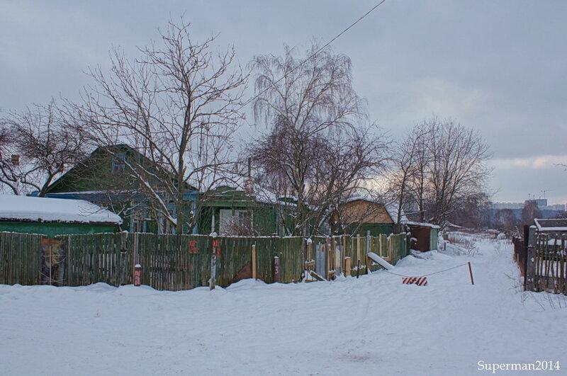 Терехово - последняя Московская деревня