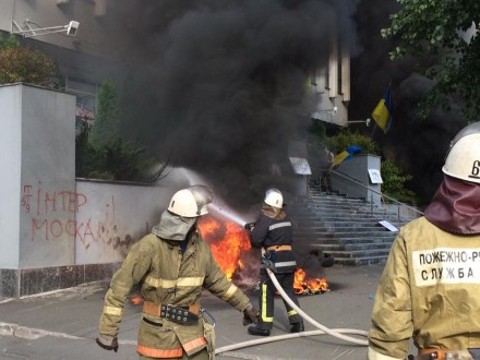 Аваков сказал, кто напал на кабинет канала «Интер»