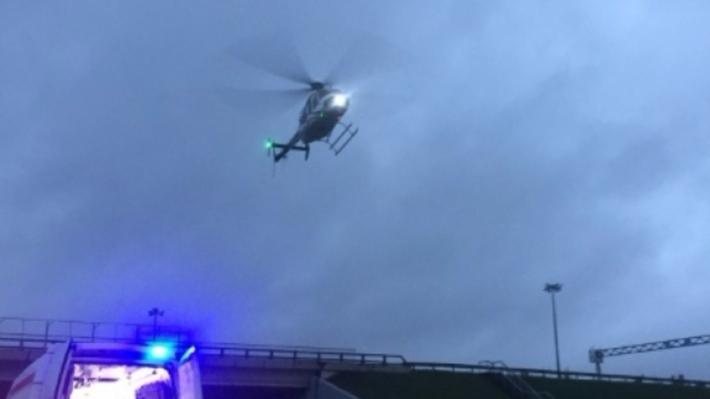 Вертолет сраненым разбился вгорах Словакии