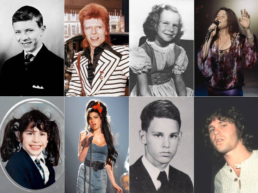 Rockstars during their Younger Days (20 pics)
