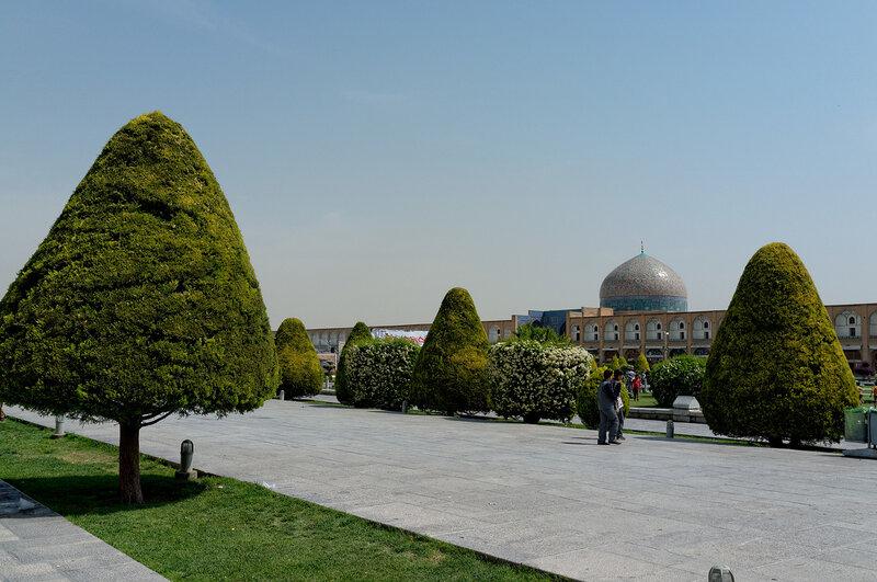 Исфахан. Площадь Имама.