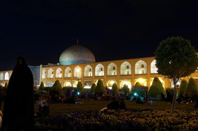 Исфахан. Мечеть шейха Лютфаллы.