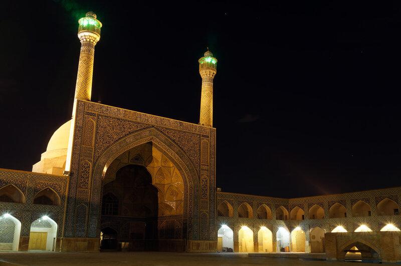 Исфахан. Пятничная мечеть.