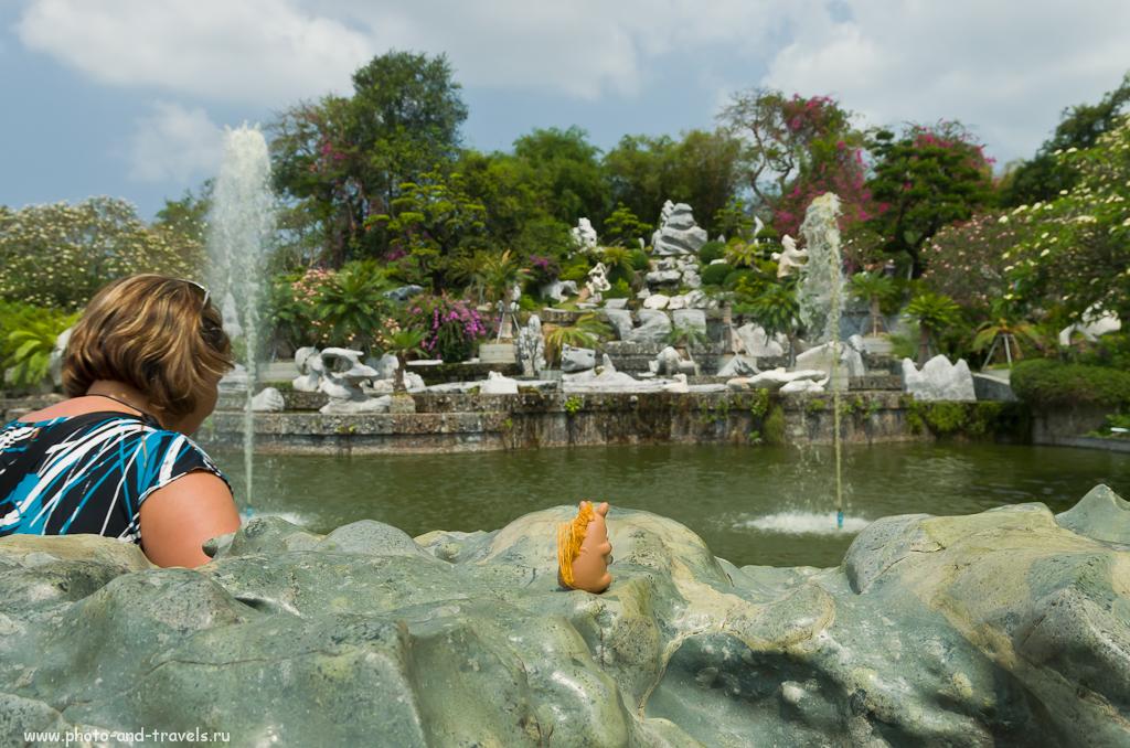 Конь Борька в парке Миллионолетних камней в городе Паттая. Экскурсий в Китае было мало, поэтому продолжили развлекаться в Таиланде.