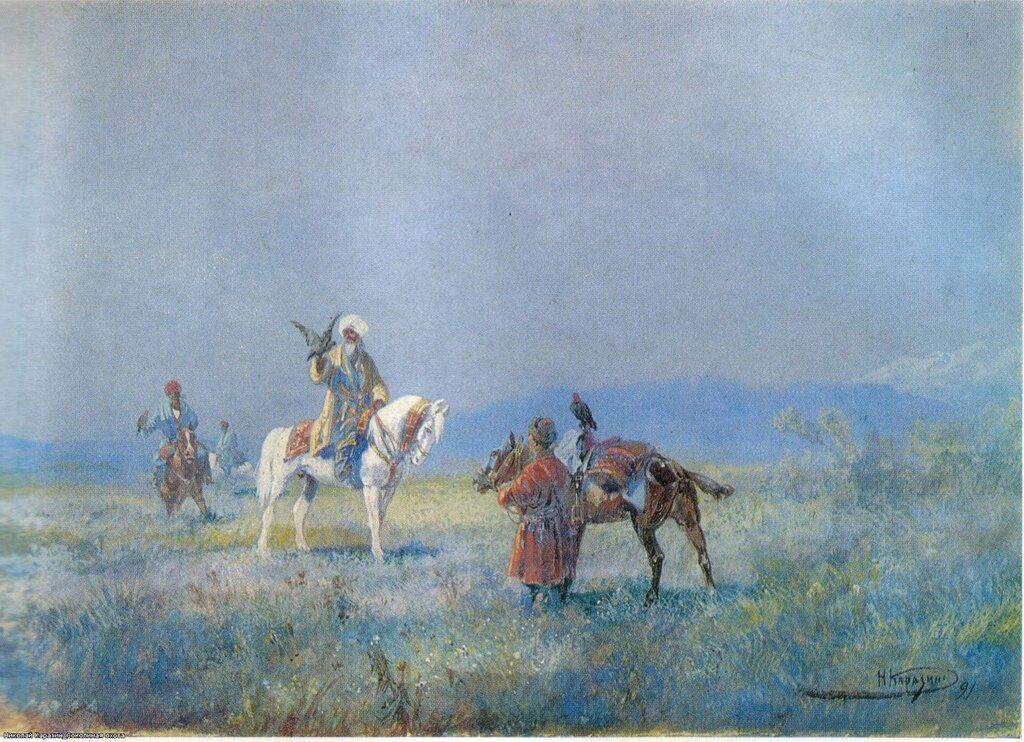 Николай Каразин. Соколиная охота